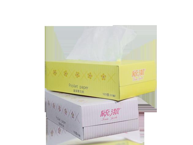 (限定商品)統潔盒裝衛生紙80抽 1